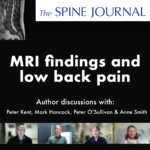 MRI findings and low back pain – Author discussions